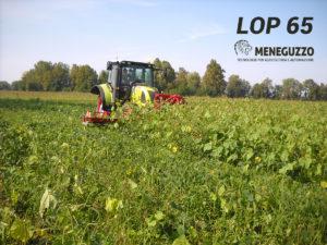 Modular weed trimmer for organic farming