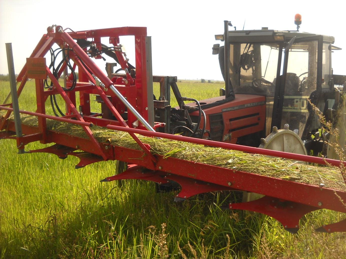 cimatrice per eliminare le erbe infestanti nel riso biologico